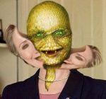 Reptillian Hillary Clinton